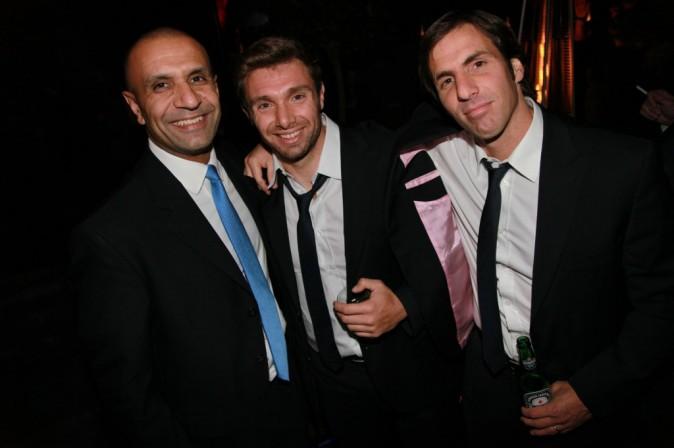 Vincent Cler et Gonzalo Quesada dans le club L'Arc à Paris, le 26 octobre 2011.