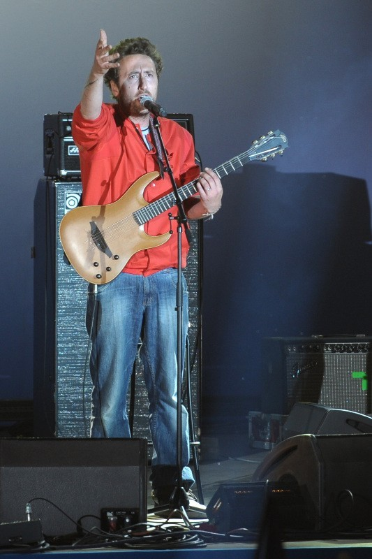 Pep's en concert à la Bastille suite à la victoire de François Hollande, le 6 mai 2012.