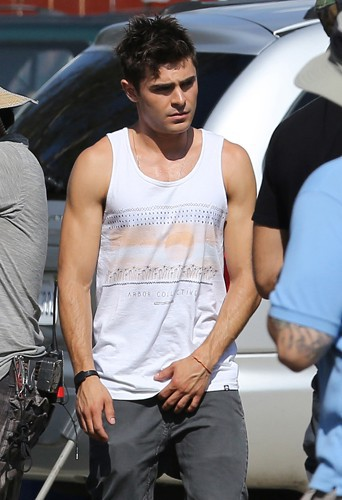 Zac Efron à Los Angeles le 20 août 2014