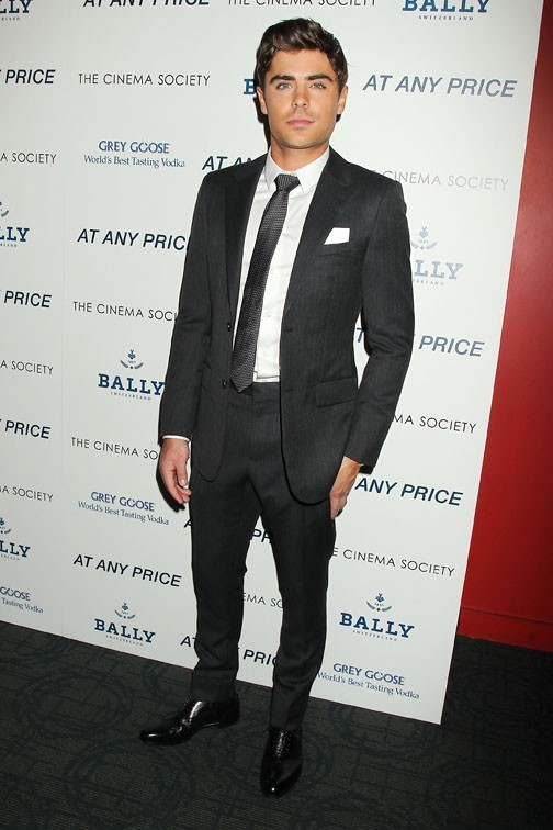 Zac Efron à l'avant-première d'Ay Any Price à New-York le 18 avril 2013