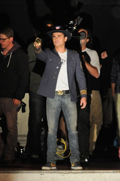 Zac Efron, Los Angeles, 26 avril.