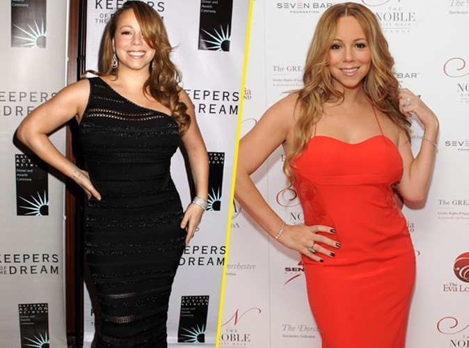 Mariah Carey a elle aussi perdu 30 kilos !