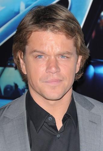 Matt Damon et sa belle tignasse