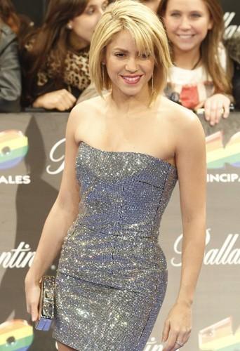 Shakira, la tête au carré !