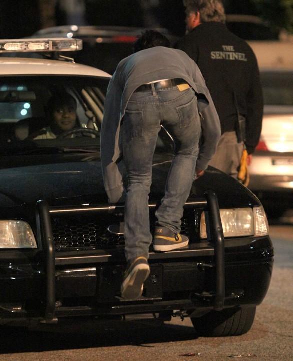 Zac Efron sur le tournage de Townies à Los Angeles le 22 mai 2013