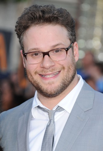 Seth Rogen à Los Angeles le 28 avril 2014