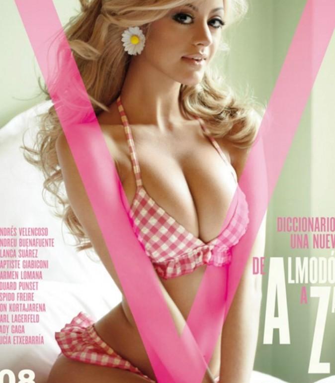 En couverture du prestigieux V Magazine