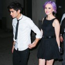 Photos : Zayn Malik (One Direction) : amoureux jusqu'au pull de sa girlfriend !