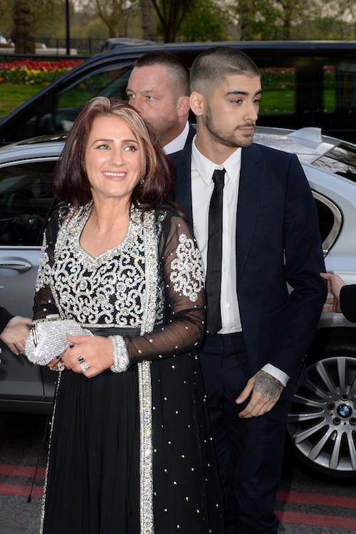 Photos : Zayn Malik transformé pour son premier tapis rouge sans les One Direction !