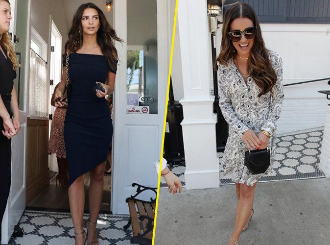 Photos : Emily Ratajkowski, Lea Michele : belles de jour pour le déjeuner Glamour !