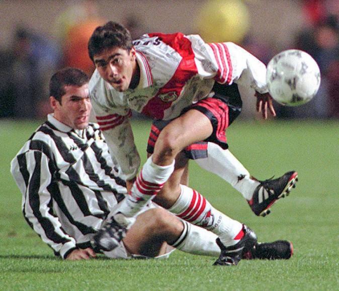 Zidane sous les couleurs de la Juventus de Turin