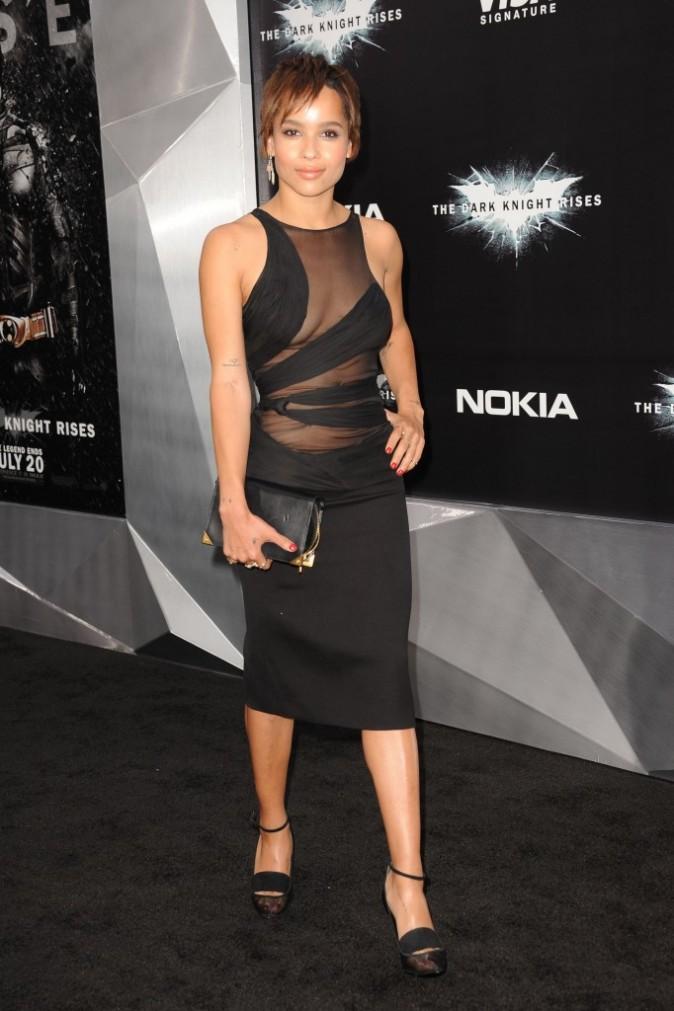 Zoë Kravitz le 16 juillet 2012 à New York