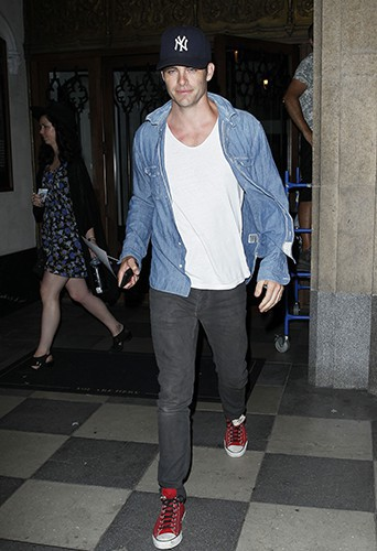 Chris Pine à Los Angeles le 17 septembre 2014