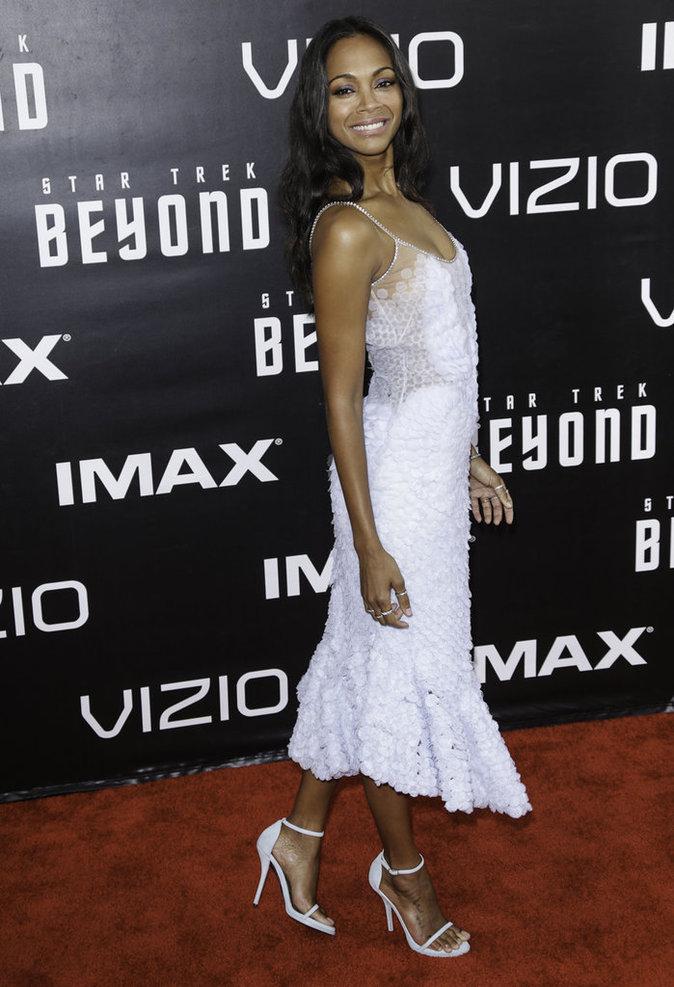 Zoe Saldana à San Diego le 20 juillet 2016