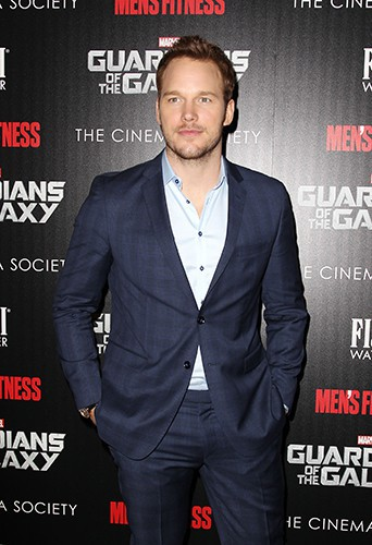 Chris Pratt à New York le 29 juillet 2014