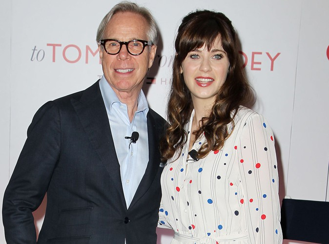 Zooey Deschanel : complice aux c�t�s de Tommy Hilfiger pour pr�senter leur collaboration mode !