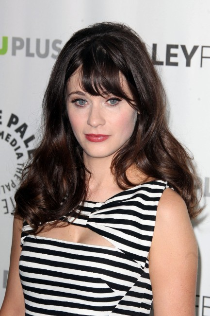Zooey Deschanel, héroïne de la série New Girl