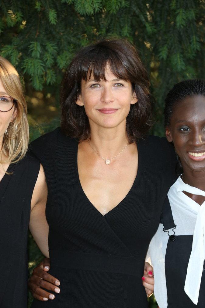 Sophie Marceau, invitée au festival du film francophone d'Angoulême ce vendredi 26 août