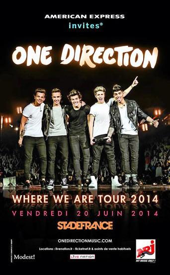 Les One Direction au stade de France !