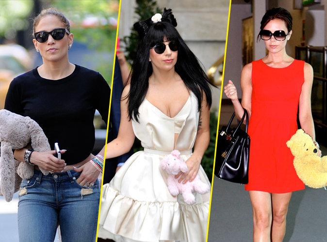 Jennifer Lopez, Lady Gaga, Victoria Beckham... Qu'il est beau mon doudou !