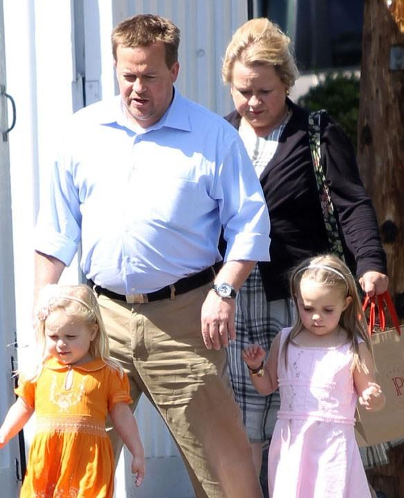 Les parents et les nièces de Reese Witherspoon à Brentwood, le 22 mars 2011.