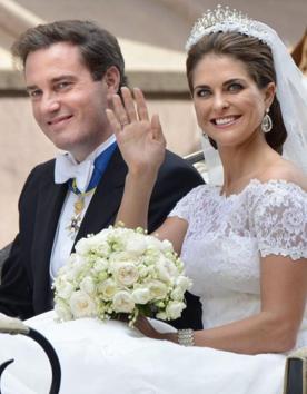 la princesse Madeleine de Suède et Chris O'Neill