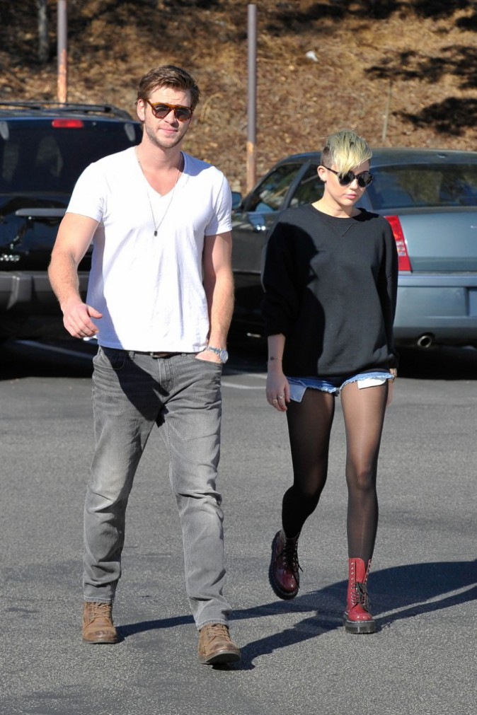Liam Hemsworth - Miley Cyrus