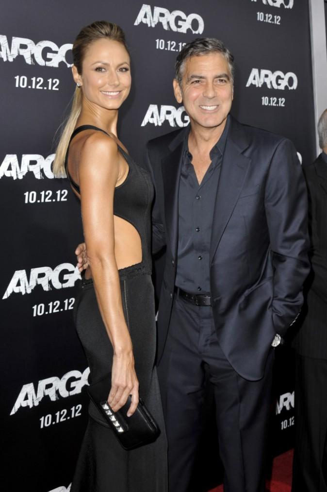Stacey Keibler - George Clooney