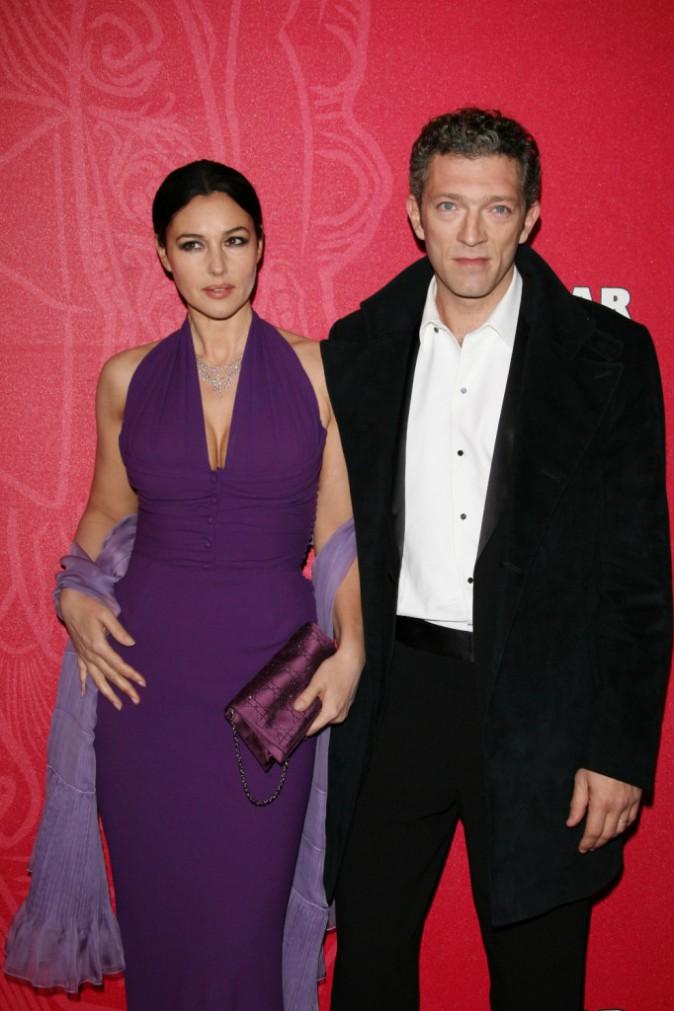 Vincent Cassel et Monica Belluci