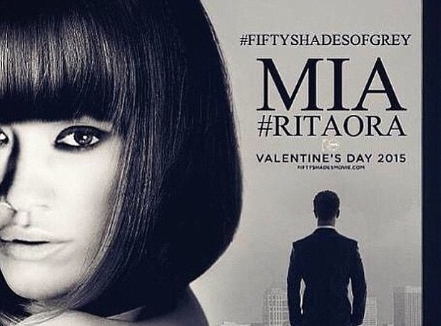 Rita Ora : découvrez le nouveau visage de Mia Grey !