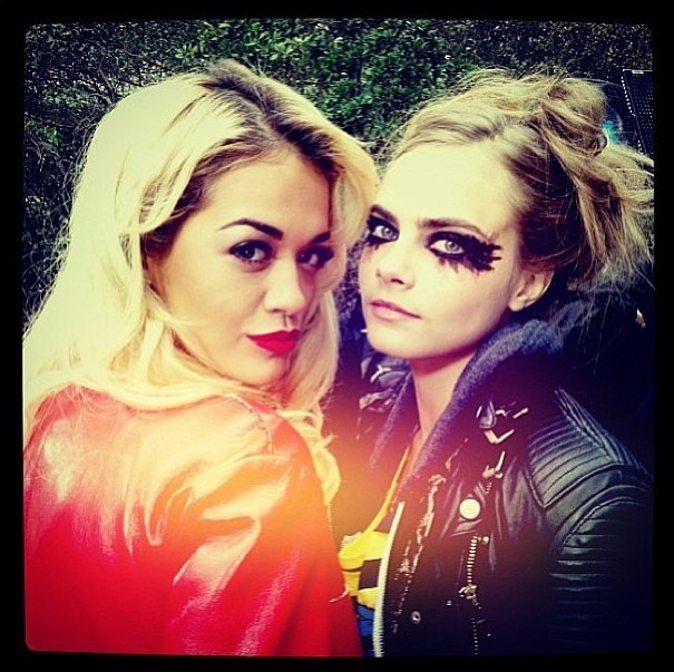 Rita Ora et Cara Delevingne : inséparables !