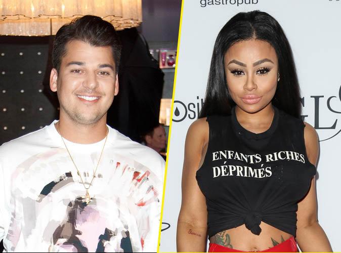 Rob Kardashian en couple avec Blac Chyna