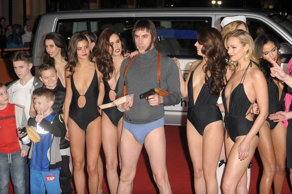 Sacha Baron Cohen n'a honte de rien !