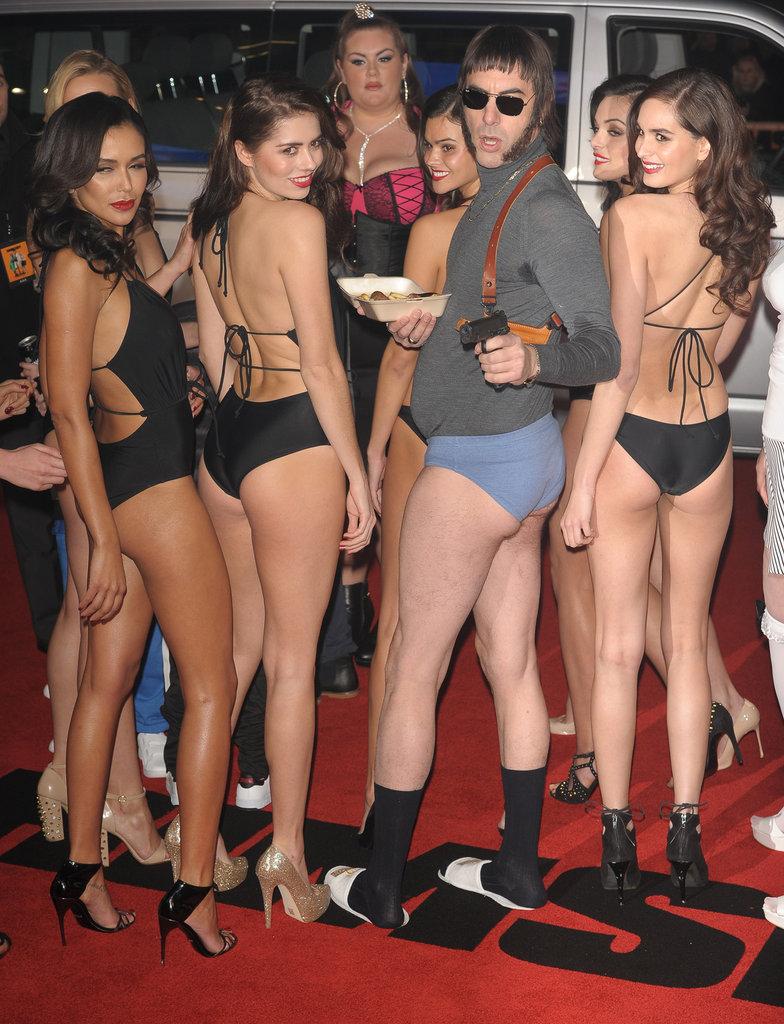Sacha Baron Cohen, un acteur culotté