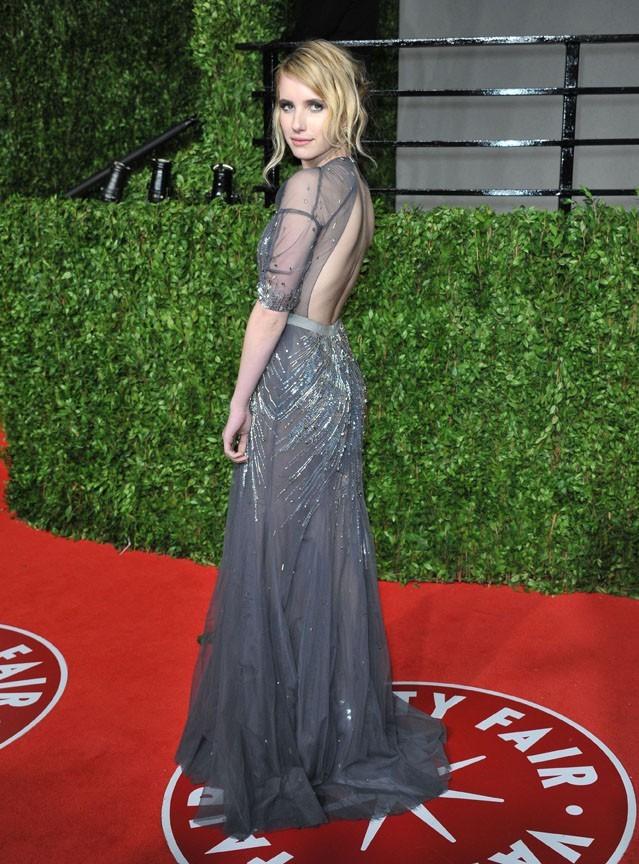 En février dernier, la blondinette à la Vanity Fair Oscar Party