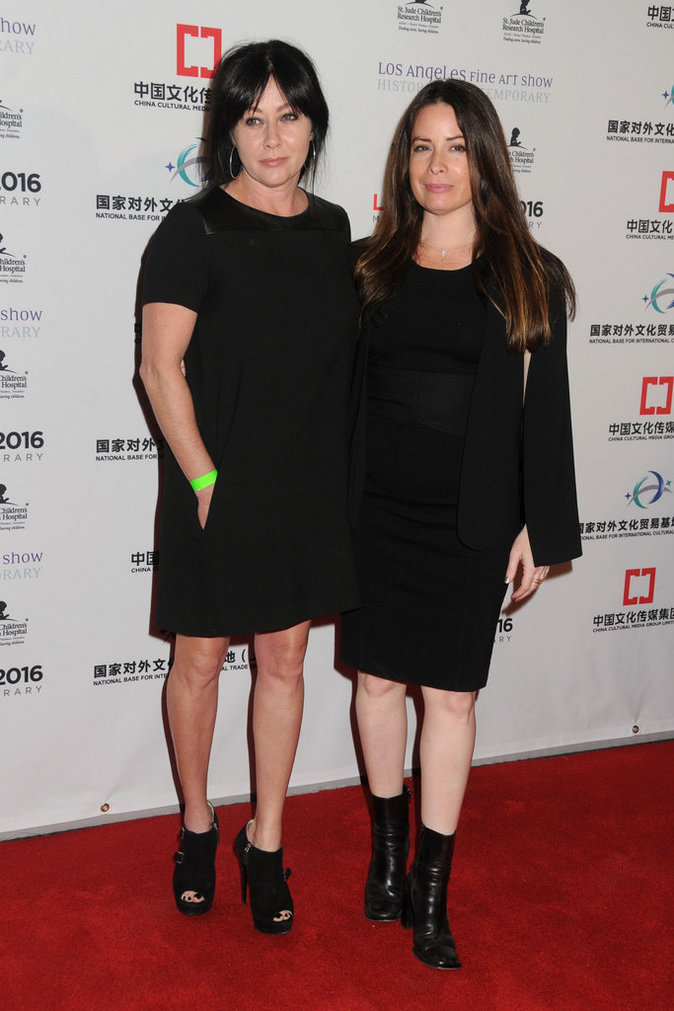 Shannen Doherty et Holly Marie Combs, toujours aussi complices sur tapis rouge
