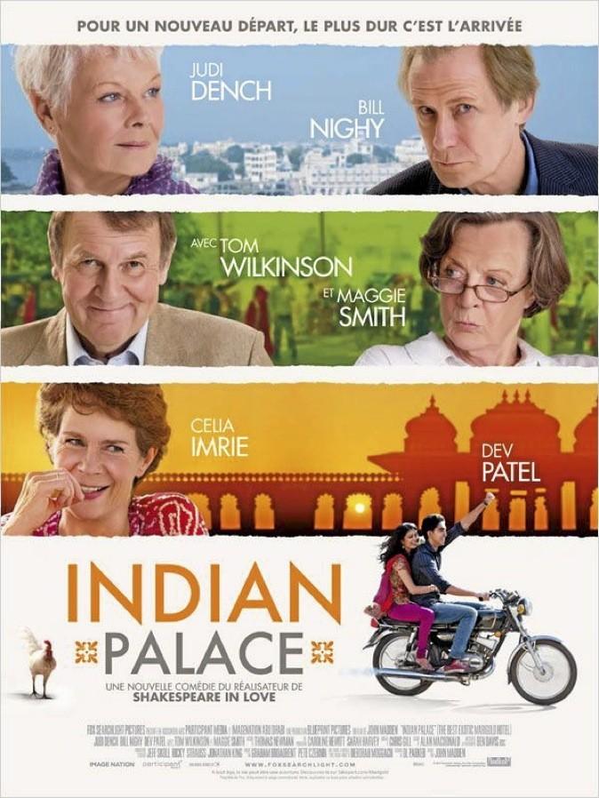 """L'affiche du film """"Indian Palace"""""""