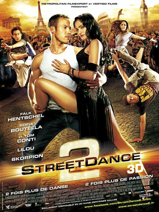 L'affiche du film Street Dance 2 !