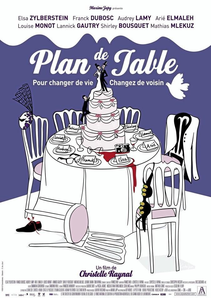 """Le nouveau film """"Plan de Table"""" avec Audrey Lamy et Franck Dubosc !"""