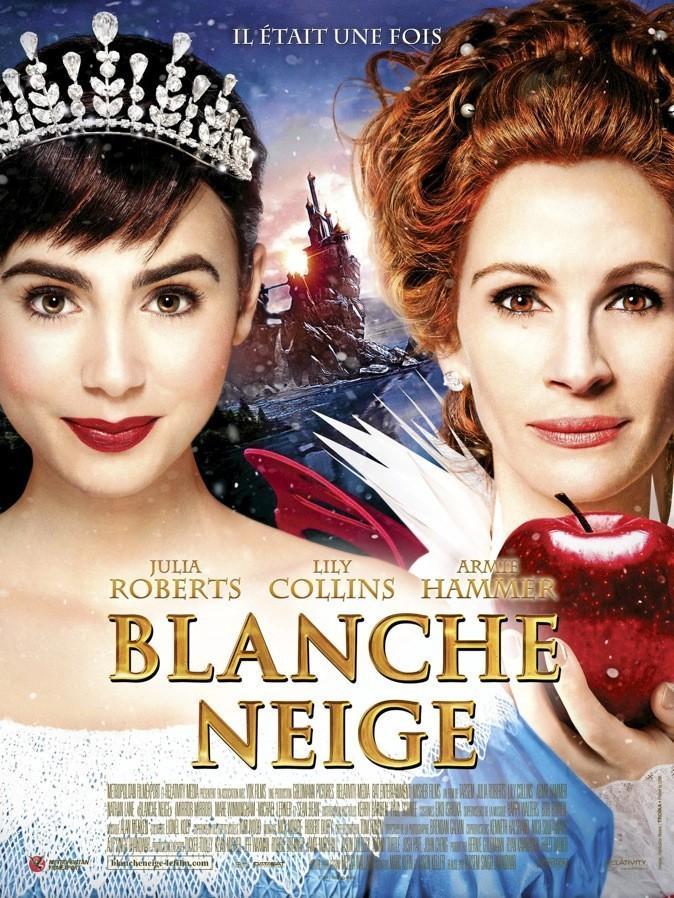 """Sortie du nouveau film """"Blanche neige"""" avec Julia Robert et Lily Collins !"""