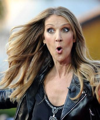 Los Angeles 10/09/2013 : Céline Dion : Bouche bée comme jamais !