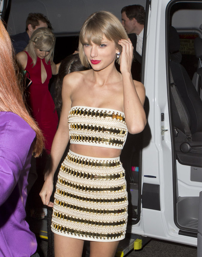 Taylor Swift, bombe atomique à l'after party des Grammy's