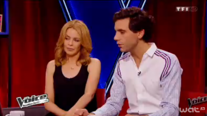 Mika et son amie et voisine Kylie Minogue