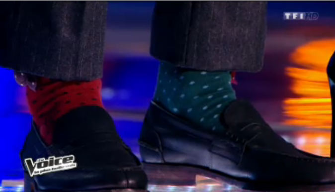 Aviez-vous remarqué les chaussettes d'Igit ?