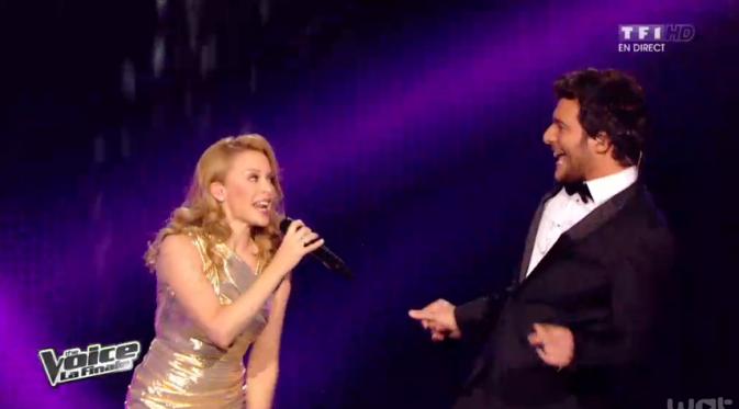 Amir et Kylie Minogue