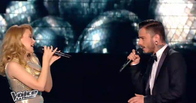 Maximilien et Kylie Minogue