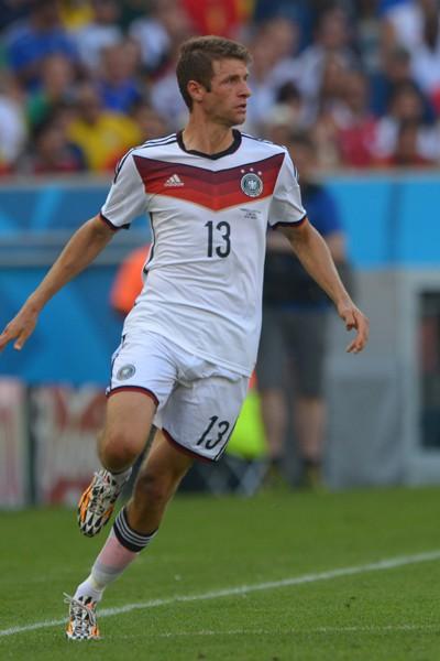 Thomas Muller lors de la Coupe du monde 2014
