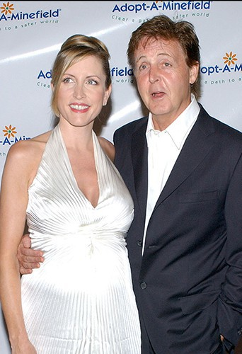 Heather Mills et Paul McCartney