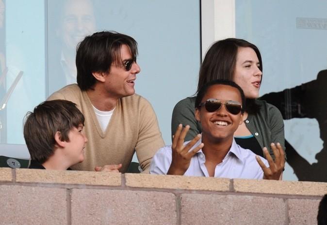 Tom Cruise, Connor et Isabella !