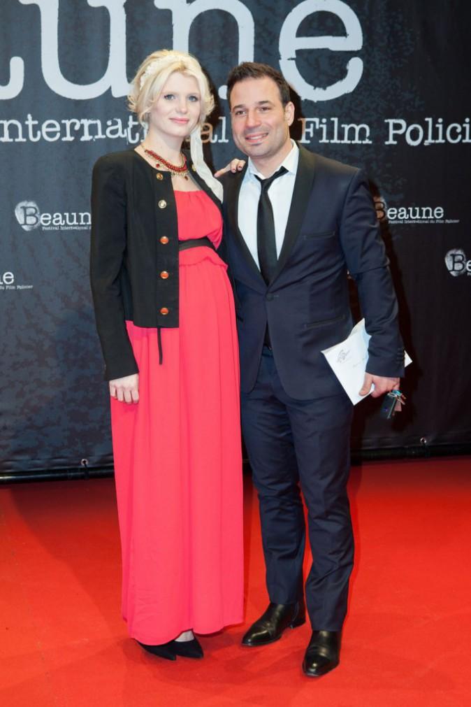 Mario Barravecchia et sa compagne Jessica le 25 mars 2015